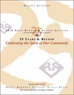 2010 Silent Auction Catalog cover