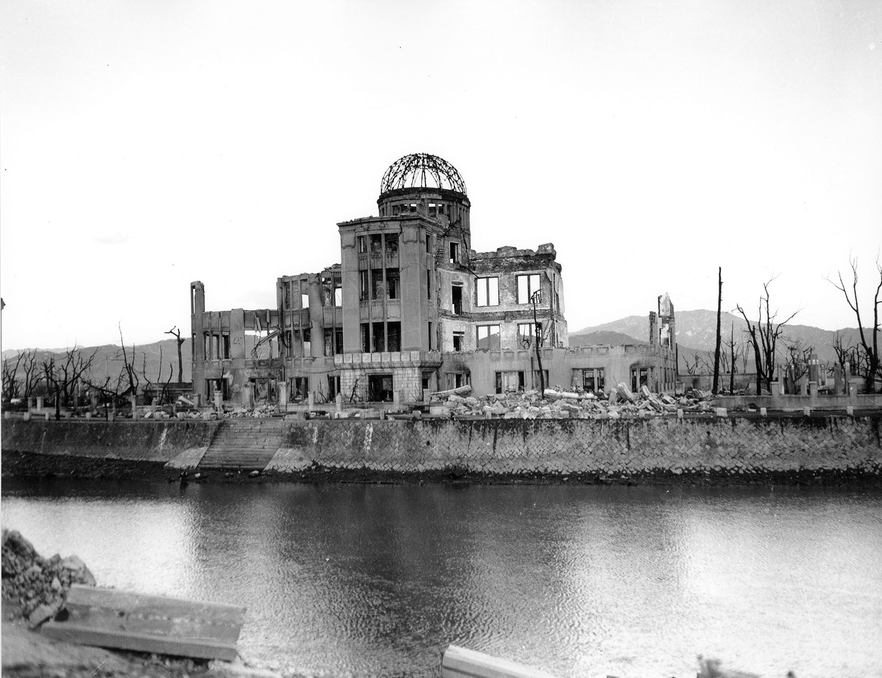 Photo by US Army. Courtesy of Hiroshima Peace Memorial Museum (HB118-B).