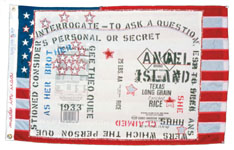 Flo Oy Wong, made in usa: Angel Island Shhh, 2000.