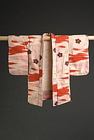 [Child's haori (jacket) with purple sakura, Hawaii, 1927]