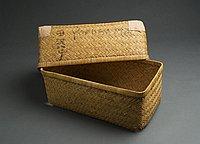 [Yanagi gori (basket trunk), Fukushima, Japan, ca. 1917]