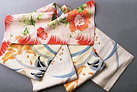 [Double-sided obi with peony design and star lily design, Ewa, Hawaii, 193-]