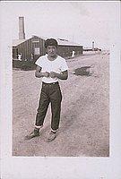 Kaz, Taxi driver, 1943