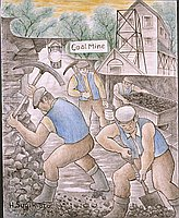 Untitled (Coal Miners)