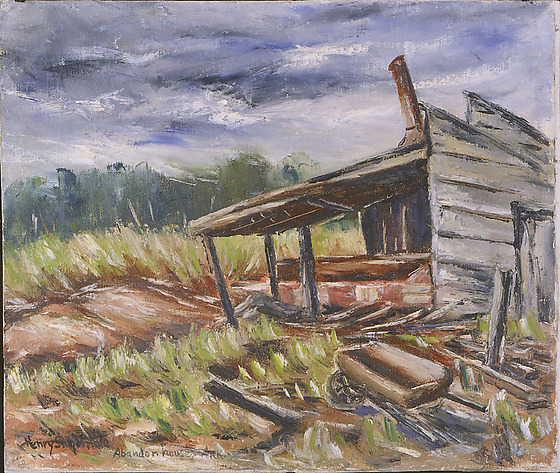 Abandon House, Ark. (Abandoned House)