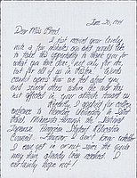 [Letter to Clara Breed from Aiko Kubo, Poston, Arizona, June 20, 1944]