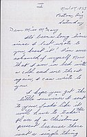 [Letter to Helen McNary from Katherine Tasaki, Poston, Arizona, November 27, 1943]