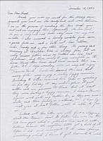 [Letter to Clara Breed from Fusa Tsumagari, Poston, Arizona, December 28, 1943]