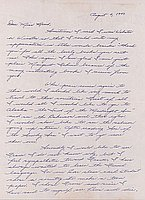 [Letter to Clara Breed from Margaret and Florence Ishino, Poston, Arizona, August 4, 1943]