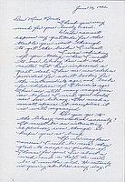 [Letter to Clara Breed from Margaret Ishino, Arcadia, California, June 16, 1942]