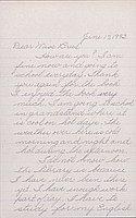 [Letter to Clara Breed from Mizue Himaka, Arcadia, California, June 17, 1942]