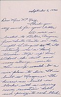 [Letter to Helen McNary from Margaret and Florence Ishino, Poston, Arizona, September 8, 1942]