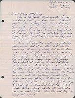 [Letter to Helen McNary from Louise Ogawa, Poston, Arizona, October 20, 1942]