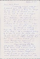 [Letter to Clara Breed from Louise Ogawa, Chicago, Illinois, October, 28, 1944]
