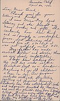 [Postcard to Clara Breed from Margaret Arakawa, Arcadia, California, April 30, 1942]