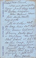 [Postcard to Clara Breed from Lillian Yuriko Kawasaki, Poston, Arizona, September 28, 1942]