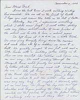 [Letter to Clara Breed from Louise Ogawa, Poston, Arizona, November 11, 1942]