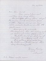 [Letter to Clara Breed from William and Jack Watanabe, Poston, Arizona, November 21, 1944]