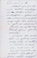 [Letter to Clara Breed from Katherine Tasaki, Poston, Arizona, September 8, 1942]
