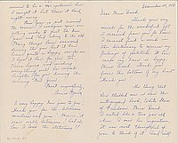 [Letter to Clara Breed from Louise Ogawa, Poston, Arizona, December 27, 1943]