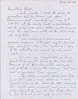 [Letter to Clara Breed from Louise Ogawa, Poston, Arizona, June 28, 1943]