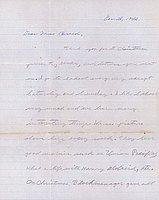 [Letter to Clara Breed from Jack Watanabe, Poston, Arizona, December 28, 1942]