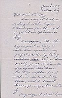 [Letter to Helen McNary from Katherine Tasaki, Poston, Arizona, January 6, 1944]