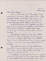 [Letter to Clara Breed from Katherine Tasaki, Poston, Arizona, March 16, 1944]