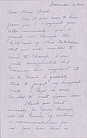[Letter to Clara Breed from Louise Ogawa, Chicago, Illinois, December 3, 1944]