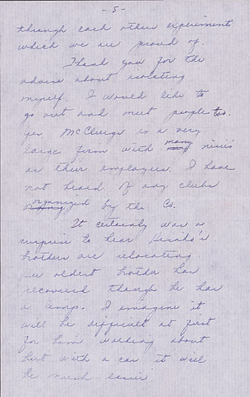 letter to clara breed from louise ogawa  chicago