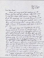 [Leter to Clara Breed from Fusa Tsumagari, Poston, Arizona, May 19, 1943]