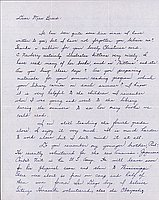 [Letter to Clara Breed from Margaret Arakawa, Poston, Arizona, March 3, 1943]