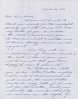 [Letter to Clara Breed from Margaret and Florence Ishino, Poston, Arizona, March 30, 1943]