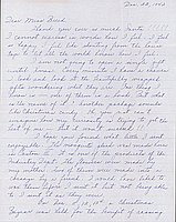 [Letter to Clara Breed from Louise Ogawa, Poston, Arizona, December 22, 1942]