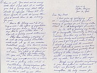 [Letter to Clara Breed from Fusa Tsumagari, Poston, Arizona, January 30, 1943]