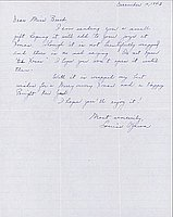 [Letter to Clara Breed from Louise Ogawa, Poston, Arizona, December 10, 1943]