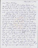 [Letter to Helen McNary from Louise Ogawa, Poston, Arizona, November 11, 1942]