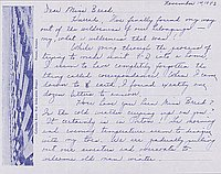 [Letters to Clara Breed from Louise Ogawa, Poston, Arizona, November 14-15, 1943]