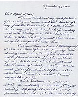 [Letter to Clara Breed from Margaret and Florence Ishino, Poston, Arizona, November 28, 1942]