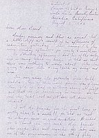 [Letter to Clara Breed from Tetsuzo (Ted) Hirasaki, Arcadia, California, August 3, 1942]