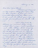 [Letter to Clara Breed from Margaret Ishino, Poston, Arizona, February 10, 1943]