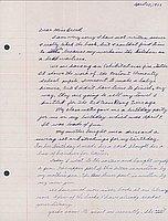 [Letter to Clara Breed from Katherine Tasaki, Poston, Arizona, April 28, 1943]