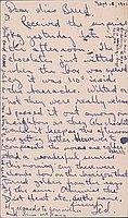 [Postcard to Miss Clara Breed from Tetsuzo (Ted) Hirasaki, Poston, Arizona, September 16, 1942]