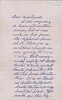 [Letter to Clara Breed from Elizabeth Kikuchi, Arcadia, California, April 18, 1942]