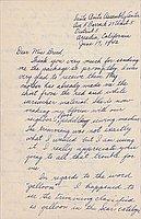 [Letter to Clara Breed from Fusa Tsumagari, Arcadia, California, June 17-19, 1942]