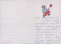 [Letter to Clara Breed from Katherine Tasaki, Arcadia, California, April 15, 1942]