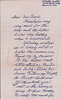 [Letter to Clara Breed from Elizabeth and David Kikuchi, Arcadia, California, April 25, 1942]