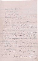 [Letters to Clara Breed from Anna and David Kikuchi, Arcadia, California, April 24, 1942]
