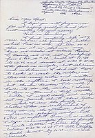 [Letter to Clara Breed from Margaret and Florence Ishino, Arcadia, California, Poston, April 23, 1942]