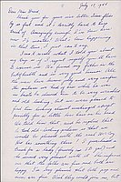 [Letter to Clara Breed from Fusa Tsumagari, Minneapolis, Minnesota, July 17, 1944]